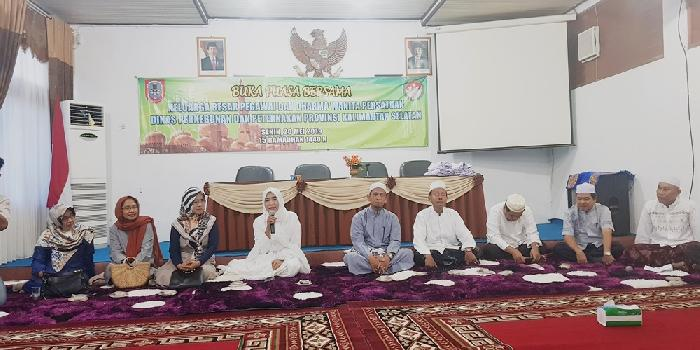 Buka Puasa bersama keluarga besar Dinas Perkebunan Provinsi Kalimantan Selatan